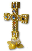 M�nster Parusie-Altarkreuz prunkkreuz Kruzifix